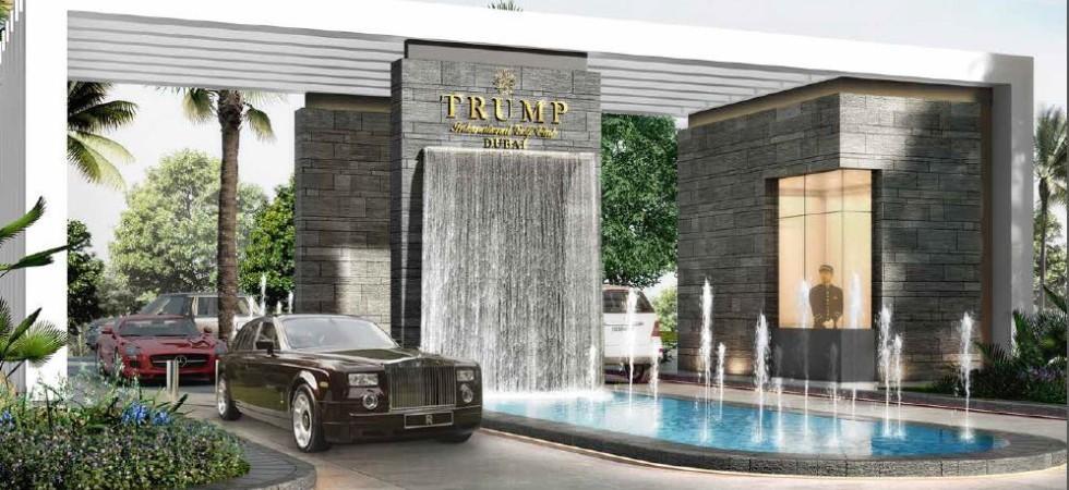 Donald Trump otevírá svůj nový golf resort v Dubaji