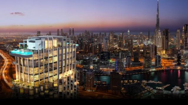 Luxusní resort s nerušeným výhledem na Burj Khalifu
